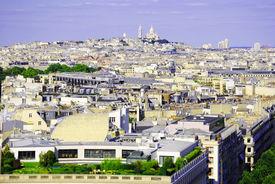 Aerial city of Paris