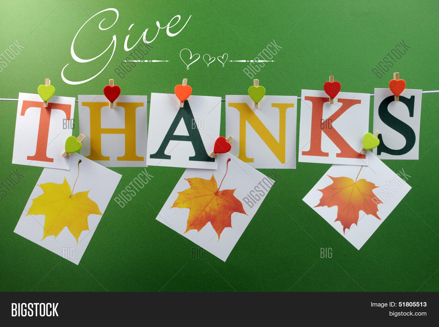Give Thanks Message Image Photo Free Trial Bigstock