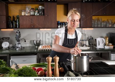 Stirring In The Pan