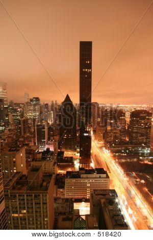 Tall Building At Dawn