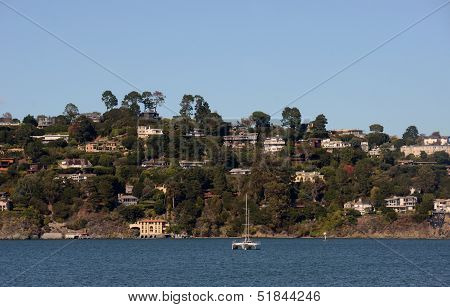 Sausalito, California Coastline