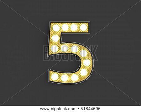 Light Vintage Number Five