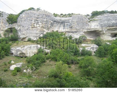 Cave City A Place  Residing  People In The Middle Ages