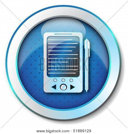 E-book reader icon