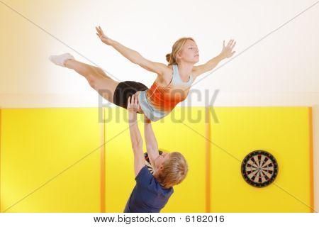 Training Acrobatic Feat