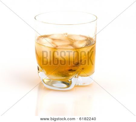 Whisky With Ice.