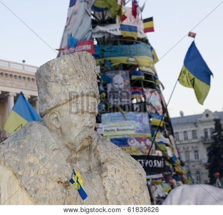 Monument To Shevchenko