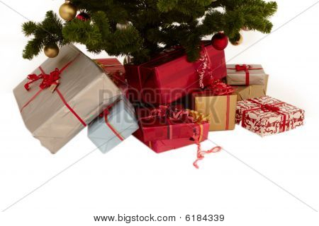 Christmas Tree - Presents Under A Tree