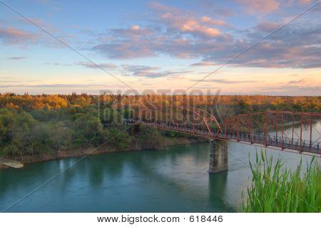 Scenic River Landscape