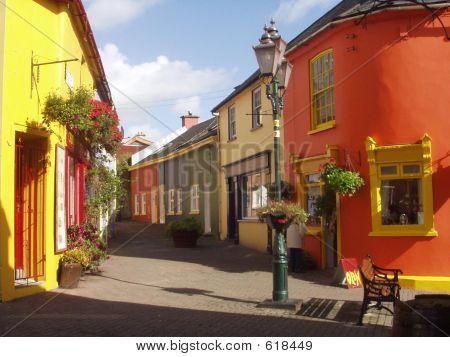 Colourful Kinsale Streets Ireland