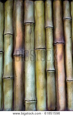 Bamboo background.