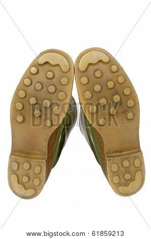 Sole Of Galoshes With Clipping Path