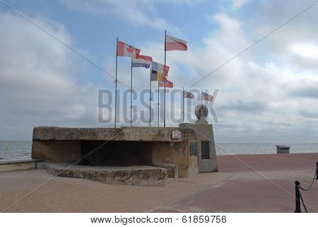 Normandy D-day Memorial Juno Beach