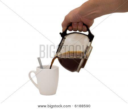 Hand & Coffee
