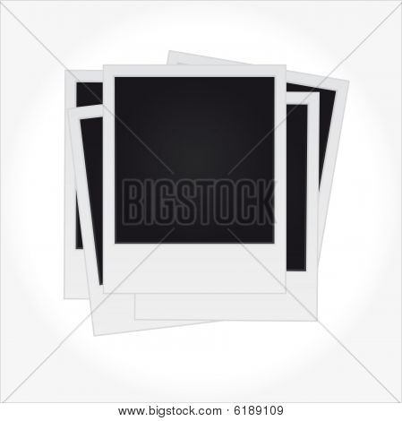 Set of Blank Pictures