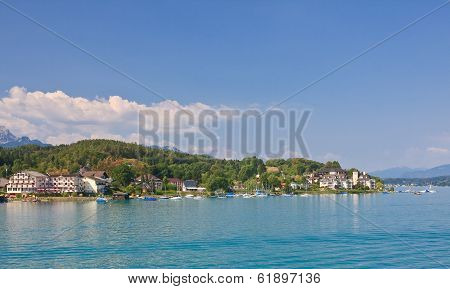 Resort Portschach Am Worthersee And Lake Worth (worthersee). Austria