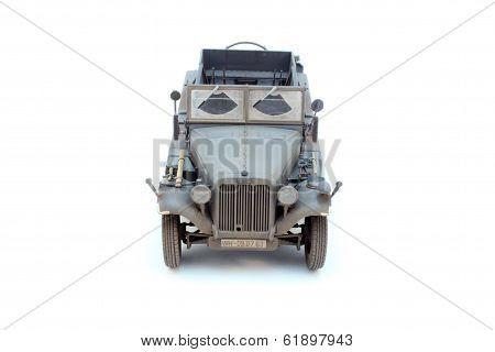 German Wwii Artillery Tractor Sd.kfz.10 D7