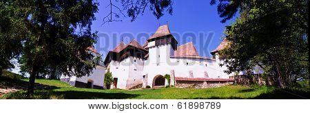 The Fortified Church From Viscri Village, Transylvania, Romania