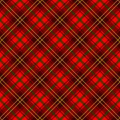 A traditional red plaid pattern. Seamlessly repeatable. poster