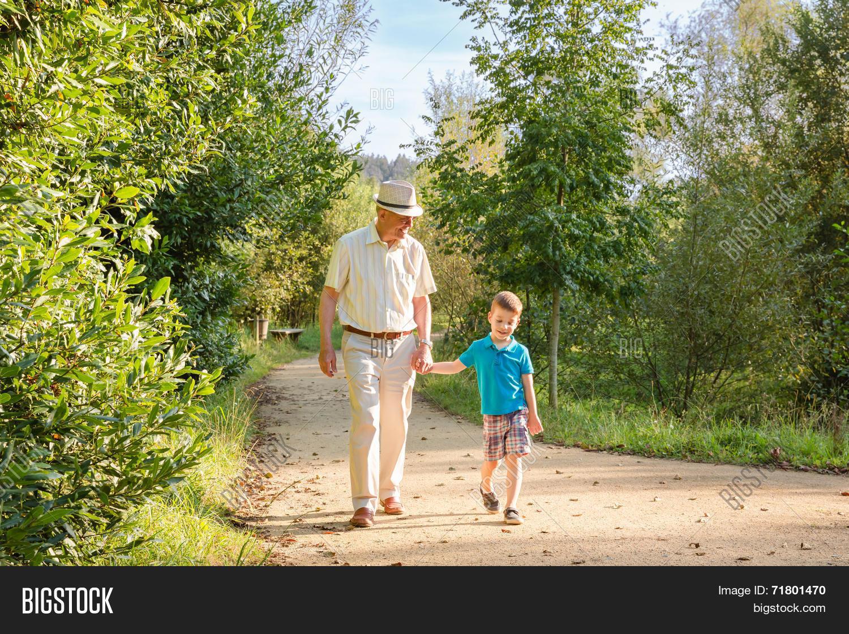grandfather grandchild image photo free trial bigstock