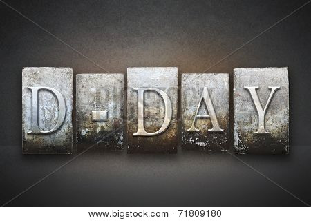 D-day Letterpress