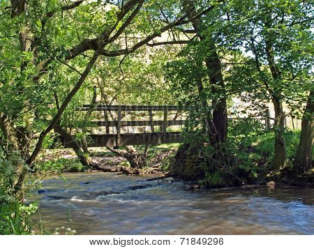 Bridge Over The River Dove.