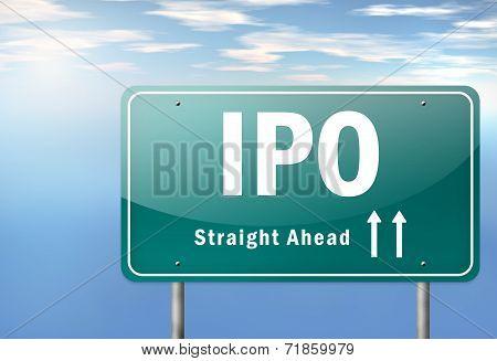 Highway Signpost Ipo