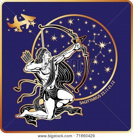 Horoscope.Sagittarius zodiac sign