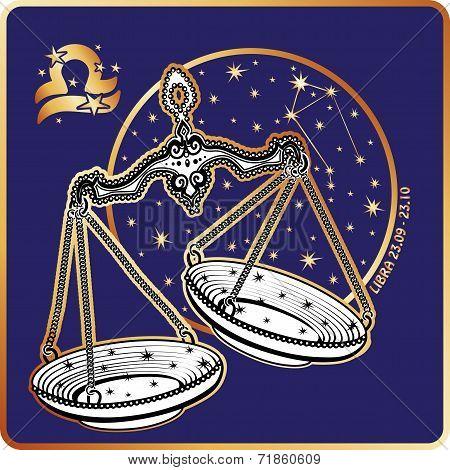 Horoscope.Libra zodiac sign