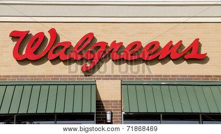 Walgreens Drug Store Sign