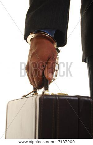 Handcuffed To Work