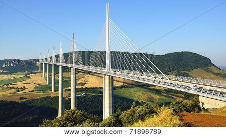 Millau Viaduct.