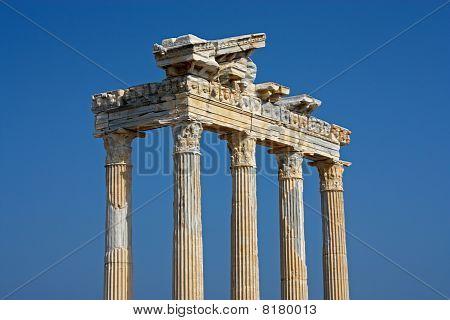 Apollo Temple In Side Turkey