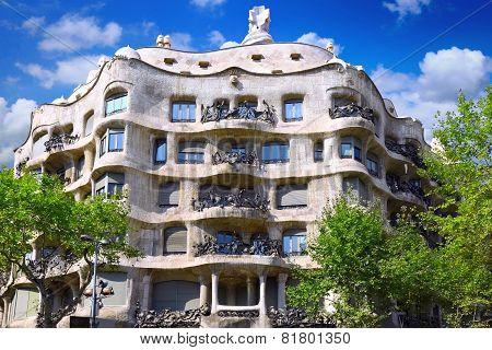House Casa Mila , Barcelona,spain.