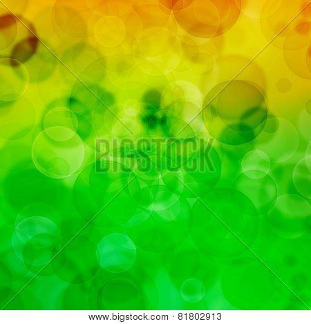 Colour Background With Bubbles .