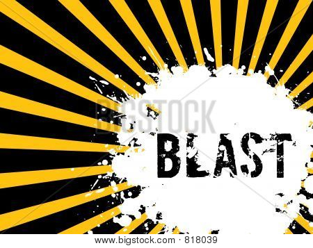 blast, grunge, background