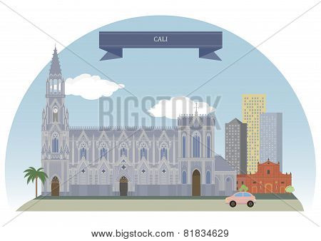Cali Colombia. Most populous city in western Colombia poster