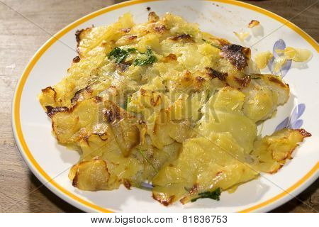 Fillet Of Plaice In Potatoes Crust