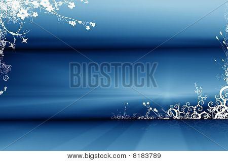 Floral Swirl Background