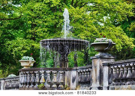 Fountain In Sanssouci