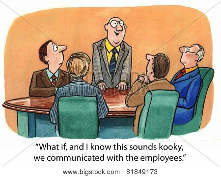Communicate with Employees