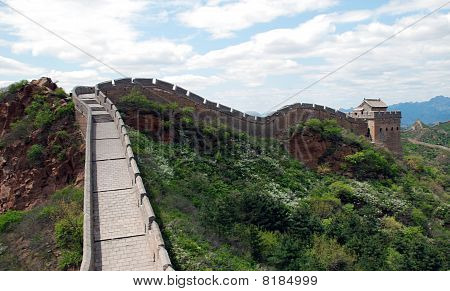 Great Wall Of China In Simatai