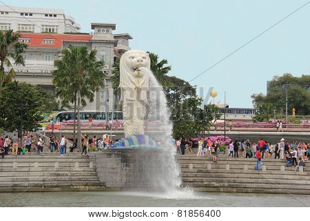 Statue Of Merlion