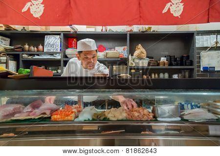 Endo Sushi in Osaka