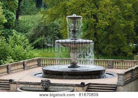 Fountain In Sans Souci