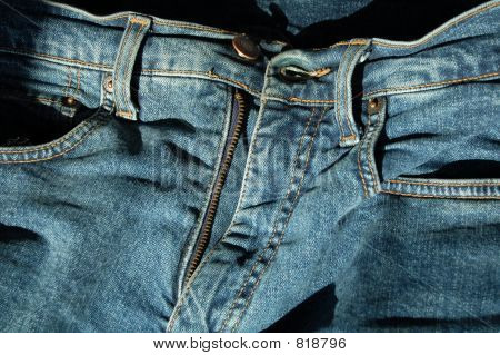 calças de brim