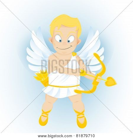 Funny Cartoon Cupidon