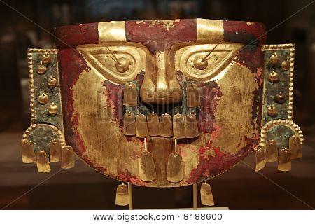 Golden Peruvian Artefact