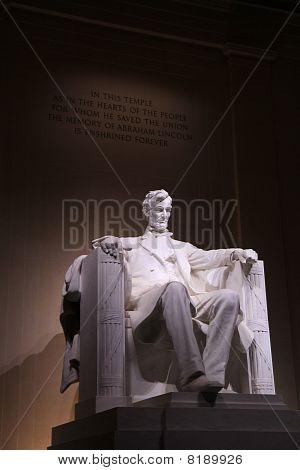 Lincoln memorial in DC