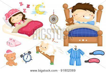 Sleeping vector Set
